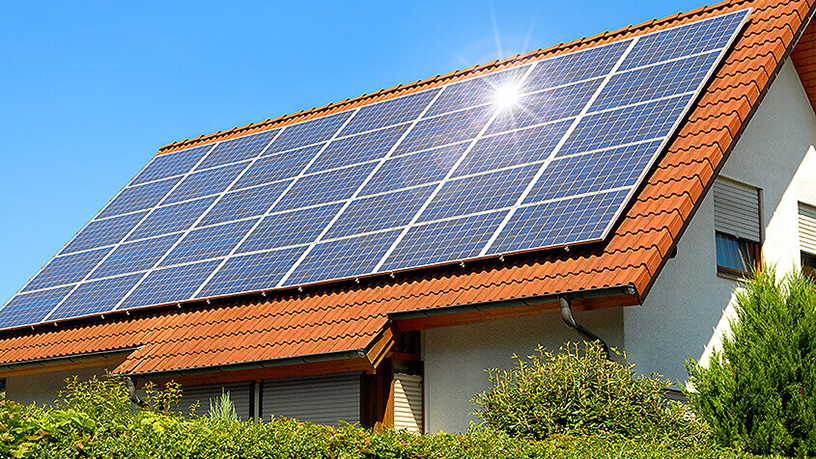 Solar panels by WiSolar, which use high-quality Q-Cell solar cells.