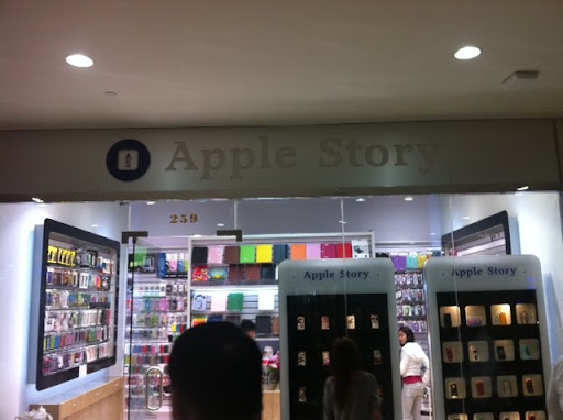 Finto Apple Store a New York - per gentile concessione di Greg Autry