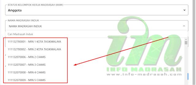 Mengatasi Nama Madrasah Induk Tidak Ditemukan di Emis Madrasah 4.0