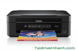 Tải và cài đặt driver máy in Epson XP-200