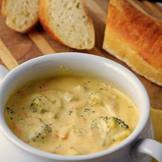 Vegetable Broccoli and Cheese Soup.