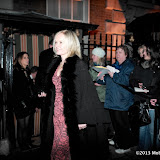 WWW.ENTSIMAGES.COM -   Mariella Frostrup   arriving at    The Charles Finch & Chanel Pre-BAFTA Dinner at Annabel's in Berkeley Square London February 9th 2013                                                      Photo Mobis Photos/OIC 0203 174 1069