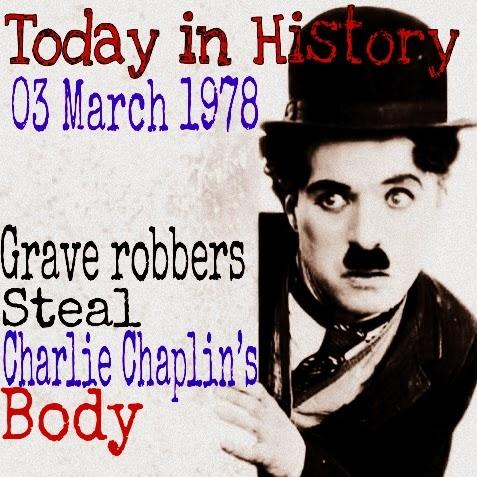 3 Maret 1978 Mayat Aktor Charlie Chaplin Pernah Di Curi