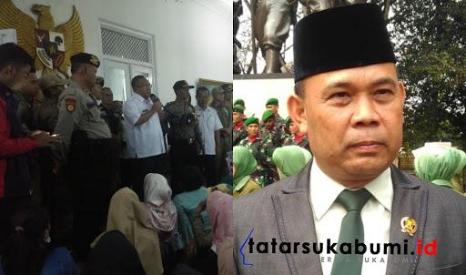 Ketua DPRD Sukabumi Agus Mulyadi Tepis Tudingan Overlap Masalah Buruh