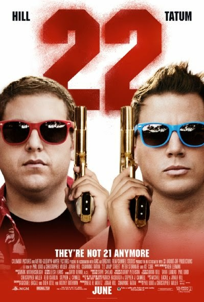 Poster Of English Movie 22 Jump Street (2014) Free Download Full New Hollywood Movie Watch Online At alldownloads4u.com