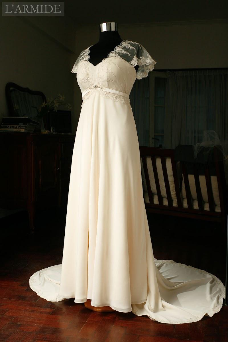 Vestido de novia argentina
