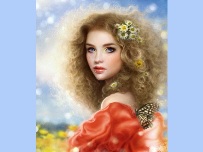 Butterfly On Her, Magic Beauties 2
