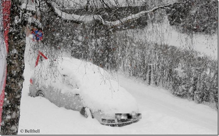 DSCN2809 Auto im Schnee