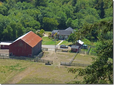 Farm near Fleener Creek Overlook