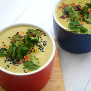 Green Bean, Cashew and Coconut Soup