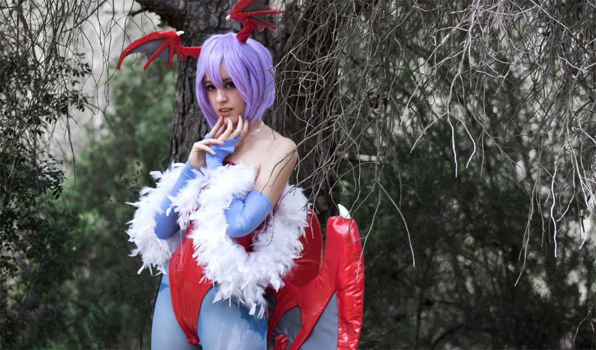 Ma cà rồng Lilith xinh đẹp trong Darkstalkers