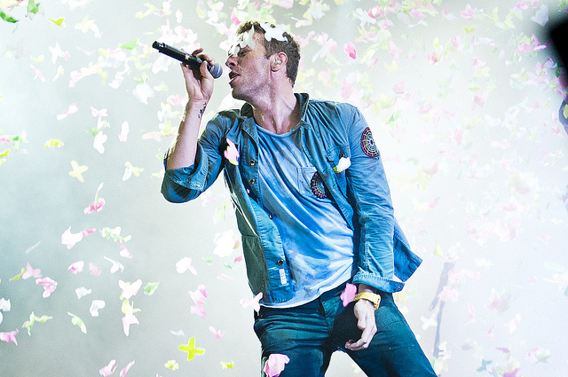 [Rock in Rio 2011] Chris Martin, o encantador de plateia