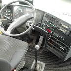 Het dashboard van de VanHool van Bovo Tours bus 307
