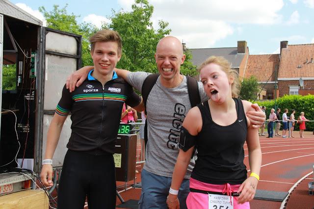 1/8e triatlon in Roeselare: lopen