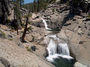 Yosemite Creek on its way down