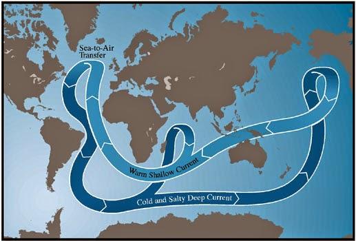 Formación de agua antártica profunda