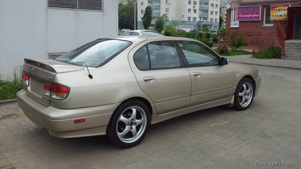 2002 Infiniti G20 Sedan Specifications, Pictures, Prices