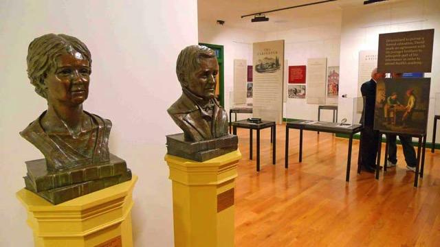 Caldwell rachel david busts