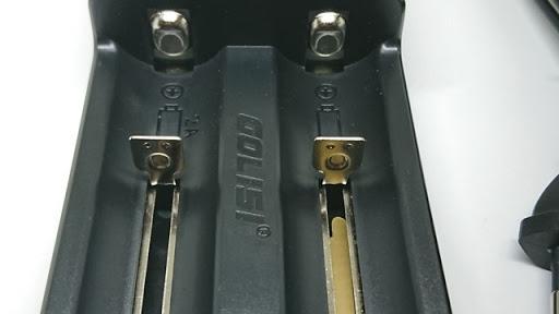 DSC 3269 thumb%255B2%255D - 【充電器】「GOLISI O2 インテリジェントチャージャー」充電器と「GOLISIバッテリー3000mAh」レビュー!2A急速充電可能なVAPEの頼もしい味方!!【バッテリー/チャージャー/電子タバコ/ツール】
