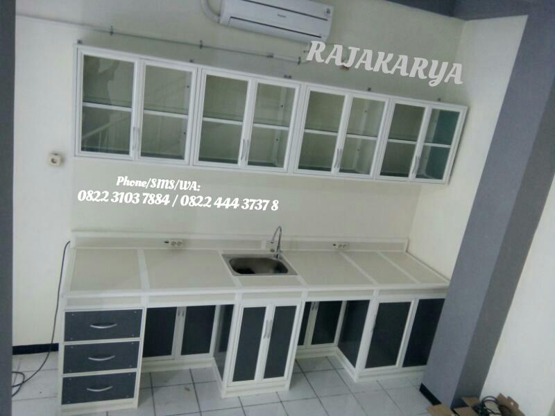 Rajakarya Konstruksi Aluminium Galvalum Kitchen Set Jawa Timur