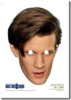 mascaras doctor who (1)
