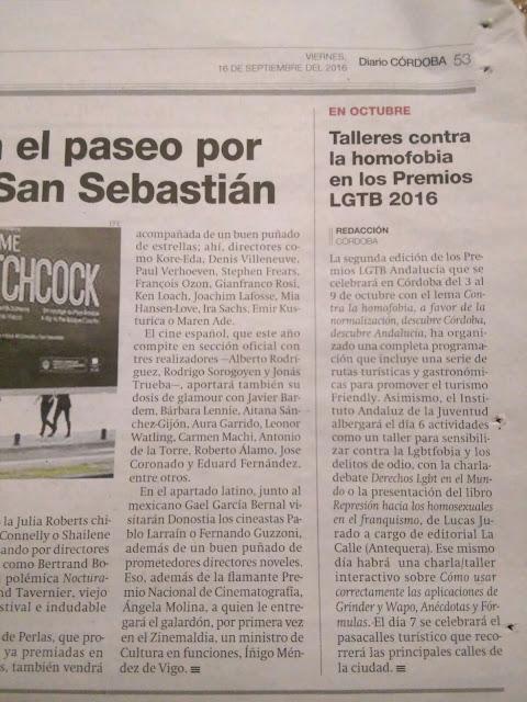 Hoy en el Diario Córdoba