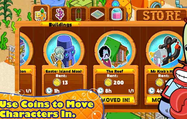 Google Play İndirim: SpongeBob Moves In Oyunu