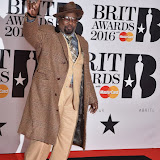 OIC - ENTSIMAGES.COM - George Clinton  at the  The BRIT Awards 2016 (BRITs) in London 24th February 2016.  Raymond Weil's  Official Watch and  Timing Partner for the BRIT Awards. Photo Mobis Photos/OIC 0203 174 1069