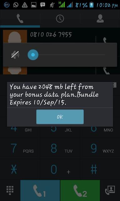 New Airtel 2GB tweak (confirmed) price in nigeria