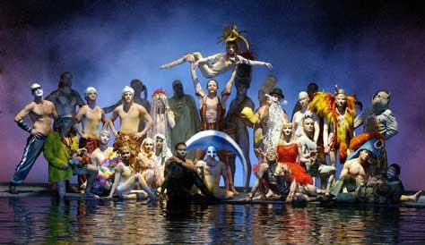 Cirque du soleil, espectáculo
