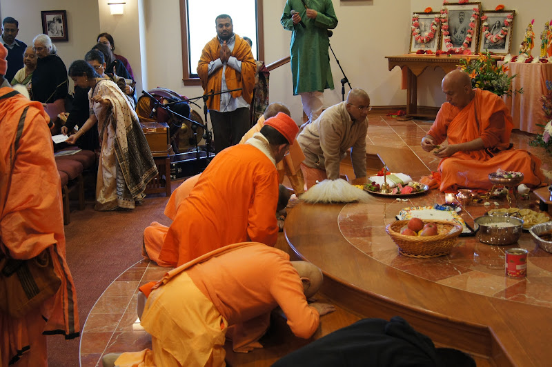 Day 2 Offering after Puja
