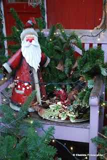 Gløderen er pyntet til jul.