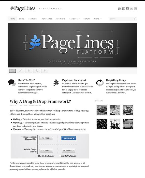 Platform Pro Flexible WordPress Theme