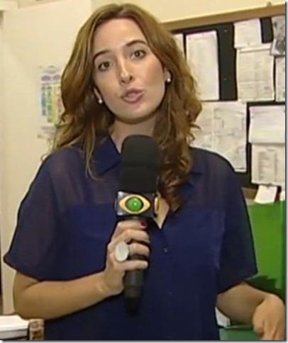 Flávia Polo, jornalista da Band/RS