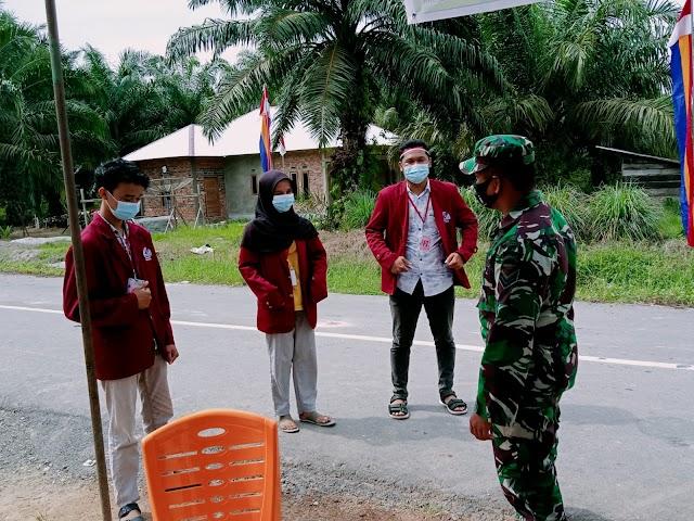 Serma Syafri Laksanakan Sosialisasi Prokes di Desa Suak Merambai Kec.Bungaraya