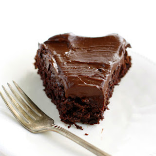 Chocolate Beet Cake with Chocolate Avocado Frosting.