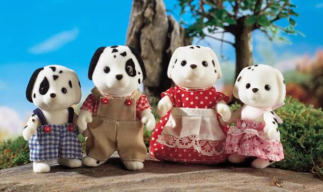 Gia đình nhà Chó đốm Dalmatian Family dễ thương, giúp bé thêm năng động và thông minh hơn trong cuộc sống