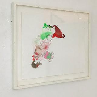 Stephanie Pryor Acrylic Ink  Painting
