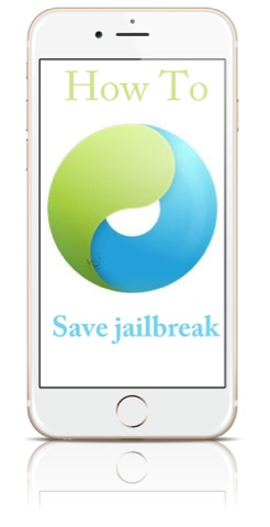 How to save jailbreak