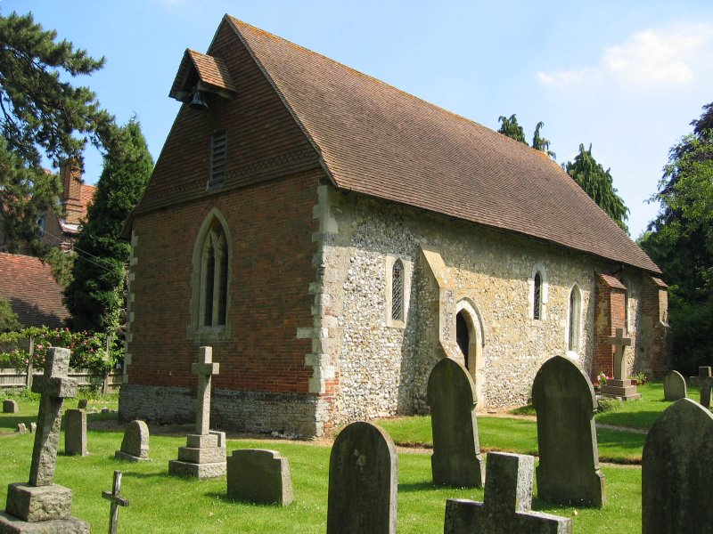 4 wanborough church