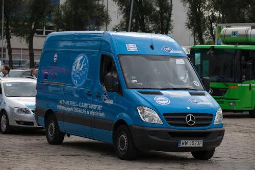 Mercedes-Benz NGT na wystawie Blue Corridor 2012 w Warszawie