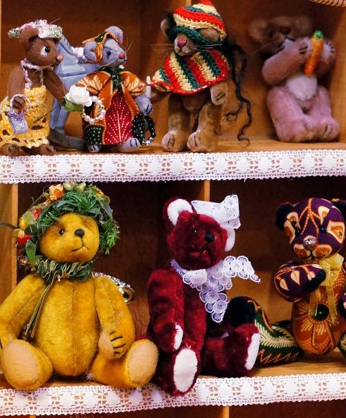 Creativa 2014: Puppen- und Bärenmarkt