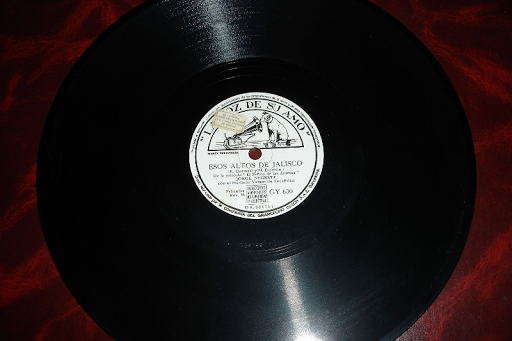 JORGE NEGRETE .. disco de pizarra