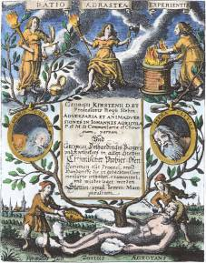 From Georg Kirsten Adversaria Et Animadversiones In Johannis Agricola 1648, Alchemical And Hermetic Emblems 2