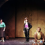 Colin McCarty, Rita Russell, Eileen McCashion and Christine Boice Saplin in ON THE VERGE - January/February 2000.  Property of The Schenectady Civic Players Theater Archive.
