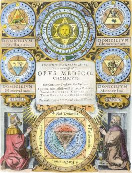From Mylius Opus Medico Chemicum Frankfurt 1618, Alchemical And Hermetic Emblems 2