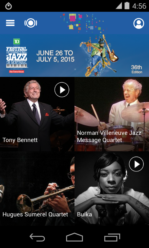 Jazz Montreal Festival - screenshot