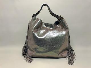 Brian Atwood Fringed Shoulder Bag