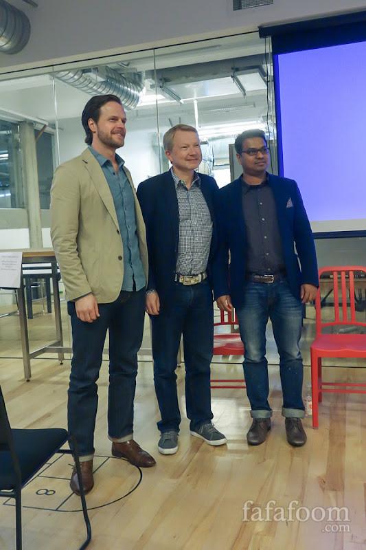 Adam Sidney (Trumaker), Henry Jeberg (Fashion Finder), and Andy Pandharikar (Fitiquette)