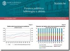 Finanza pubblica. Dicembre 2017